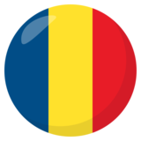 Flag: Romania on JoyPixels 3.1