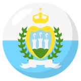 Flag: San Marino on JoyPixels 3.1