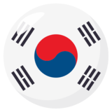Flag: South Korea on EmojiOne 3.1