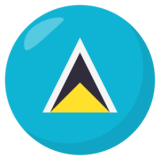 Flag: St. Lucia on JoyPixels 3.1