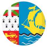 Flag: St. Pierre & Miquelon on JoyPixels 3.1