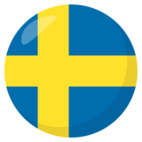 Flag: Sweden on JoyPixels 3.1