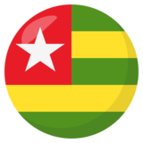 Flag: Togo on JoyPixels 3.1