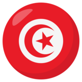 Flag: Tunisia on EmojiOne 3.1