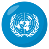 Flag: United Nations on EmojiOne 3.1