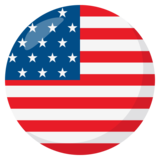 Flag: United States on JoyPixels 3.1