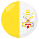 Flag: Vatican City on JoyPixels 3.1