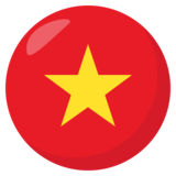 Flag: Vietnam on EmojiOne 3.1
