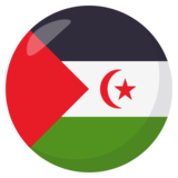 Flag: Western Sahara on JoyPixels 3.1