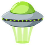 Flying Saucer on JoyPixels 3.1