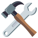 Hammer and Wrench on JoyPixels 3.1