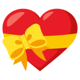 Heart With Ribbon on JoyPixels 3.1