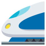 High-Speed Train on JoyPixels 3.1