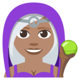 Mage: Medium Skin Tone on JoyPixels 3.1