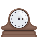 Mantelpiece Clock on JoyPixels 3.1