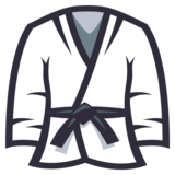 Martial Arts Uniform on JoyPixels 3.1