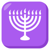 Menorah on JoyPixels 3.1