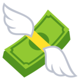 Money with Wings on JoyPixels 3.1