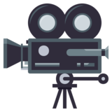 Movie Camera on EmojiOne 3.1