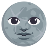 New Moon Face on JoyPixels 3.1