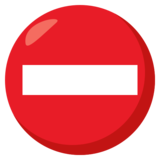 No Entry on JoyPixels 3.1