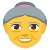 Old Woman on EmojiOne 3.1