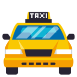 Oncoming Taxi on JoyPixels 3.1
