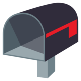 Open Mailbox with Lowered Flag on JoyPixels 3.1