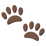 Paw Prints on JoyPixels 3.1