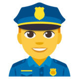 Police Officer on JoyPixels 3.1