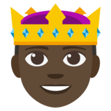 Prince: Dark Skin Tone on JoyPixels 3.1