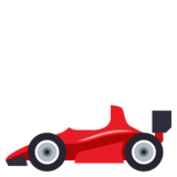 Racing Car on JoyPixels 3.1
