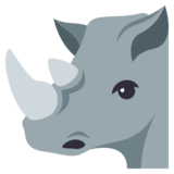 Rhinoceros on JoyPixels 3.1