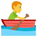 Person Rowing Boat on JoyPixels 3.1