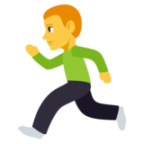 Person Running on JoyPixels 3.1