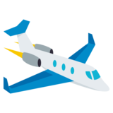 Small Airplane on JoyPixels 3.1