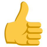 Monique Thumbs Up on EmojiOne 3.1