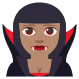 Vampire: Medium Skin Tone on JoyPixels 3.1