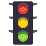 Vertical Traffic Light on JoyPixels 3.1