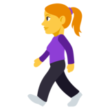 Woman Walking on JoyPixels 3.1