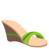 Woman's Sandal on JoyPixels 3.1