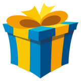 Wrapped Gift on EmojiOne 3.1