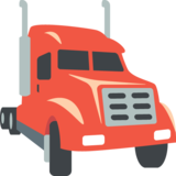 Articulated Lorry on JoyPixels 2.0