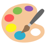 Artist Palette on JoyPixels 2.0