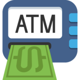 ATM Sign on JoyPixels 2.0