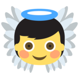 Baby Angel on JoyPixels 2.0