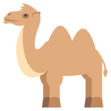Two-Hump Camel on EmojiOne 2.0