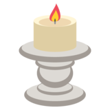 Candle on JoyPixels 2.0