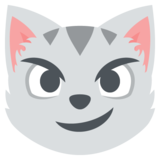 Cat With Wry Smile on JoyPixels 2.0