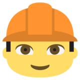 Construction Worker on JoyPixels 2.0